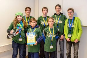 Hardenberggymnasium Fürth First Lego League 2016