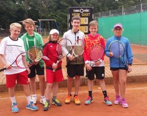 Tennismannschaft JU IV_schmal